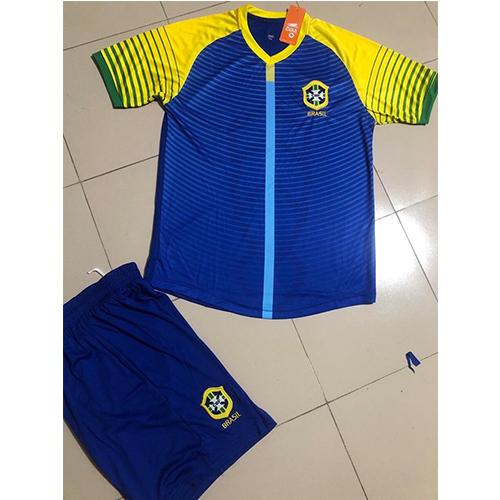 áo đội tuyển brazin sân khách 1 2020