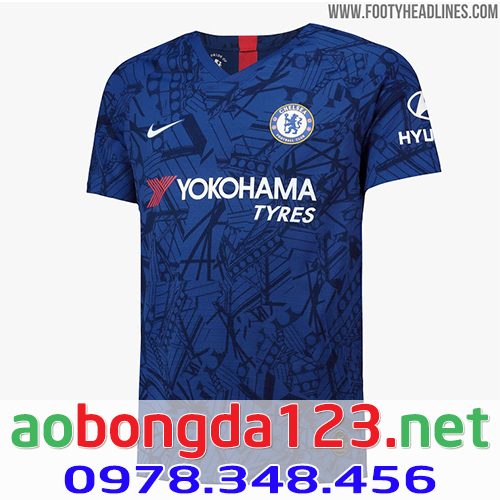 Áo Chelsea sân nhà mùa giải 2019-2020