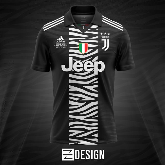 Áo Juventus Fantasy Màu Đen