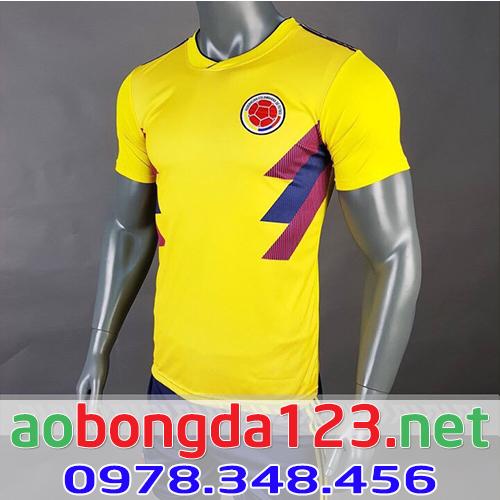 Áo Bóng Đá Độ Tuyển Colombia 2018 - Sân Nhà