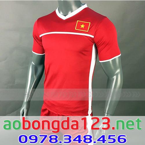 Áo Bóng Đá Đội Tuyển Việt Nam Training 2018 - Màu Đỏ