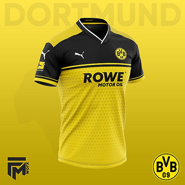 Áo Borussia Dortmund Fantasy Màu Vàng Đen