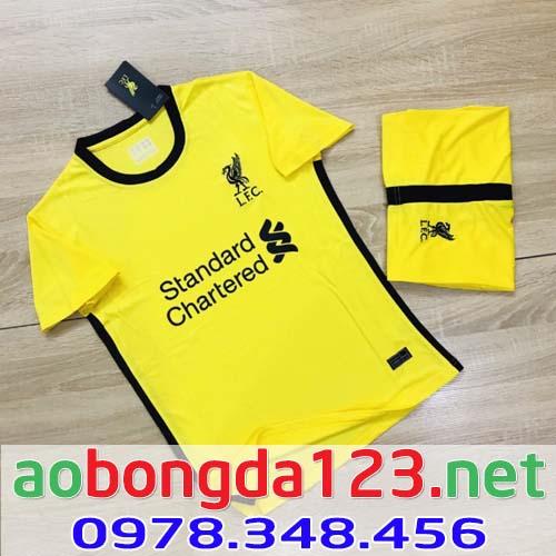 Áo Bóng Đá Câu Lạc Bộ Liverpool Màu Vàng 2021