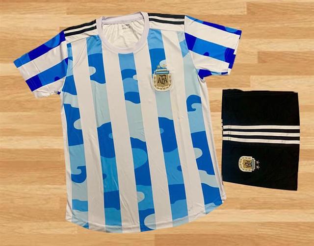 Áo Bóng Đá Đội Tuyển Argentina Sân Nhà 2021