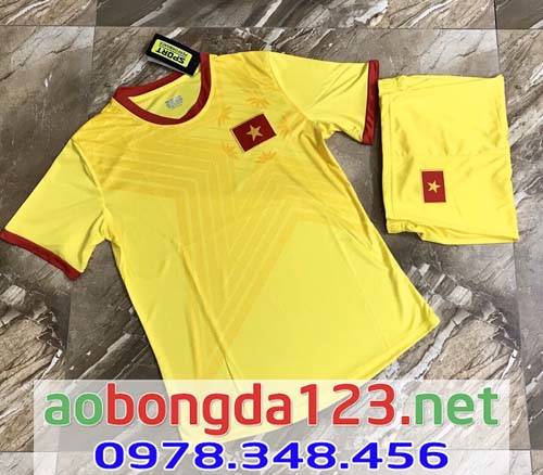 Áo Bóng Đá Đội Tuyển Việt Nam Sân Khách 2021