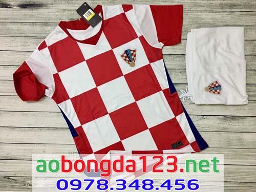 Áo Bóng Đá Đội Tuyển Croatia Sân Nhà 2021