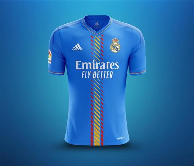 Áo Bóng Đá Câu Lạc Bộ Real Madrid Sân Nhà C1 2021