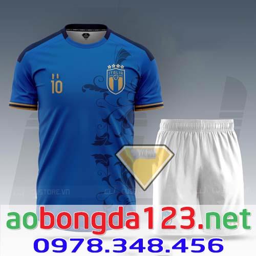 Áo Bóng Đá Đội Tuyển Italia Sân Nhà