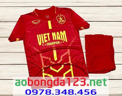 Áo Bóng Đá Đội Tuyển Việt Nam Traning 7